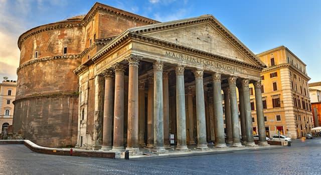 Geografía Pregunta Trivia: ¿En qué país está ubicado el Panteón de Agripa?