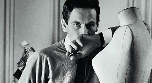 Sociedad Pregunta Trivia: ¿En qué país nació el diseñador de moda Pierre Cardin?