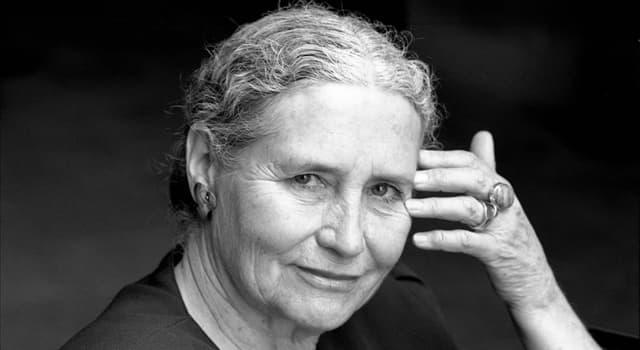 Cultura Pregunta Trivia: ¿En qué país nació la escritora Doris Lessing?