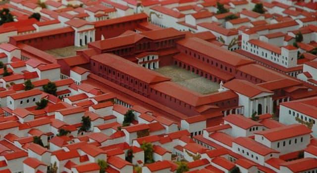 """Geografía Pregunta Trivia: ¿En qué país se construyó """"Augusta Treverorum"""", conocida como """"la Segunda Roma""""?"""