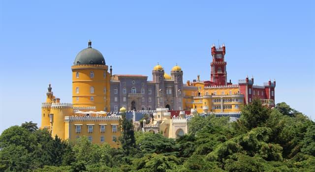 Geografía Pregunta Trivia: ¿En qué país se encuentra el Palacio da Pena?