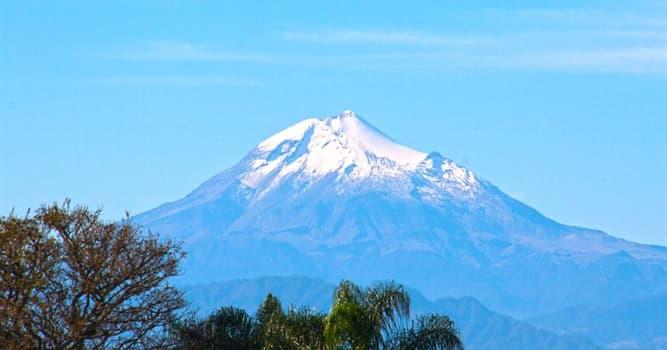 Geografía Pregunta Trivia: ¿En qué país se encuentra el volcán Citlaltépetl?