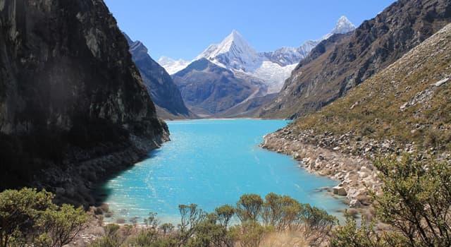 Geografía Pregunta Trivia: ¿En qué país se encuentra la laguna Parón?
