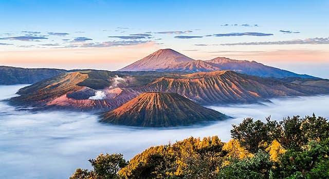Geografía Pregunta Trivia: ¿En qué país se localiza el Monte Bromo?