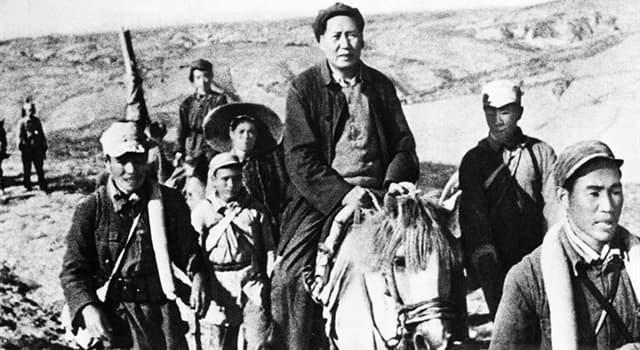 "Historia Pregunta Trivia: ¿En qué país se realizó la ""Larga Marcha""?"