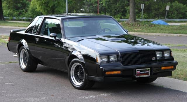 Películas Pregunta Trivia: ¿En qué película apareció un automóvil Buick GNX modelo 1987?