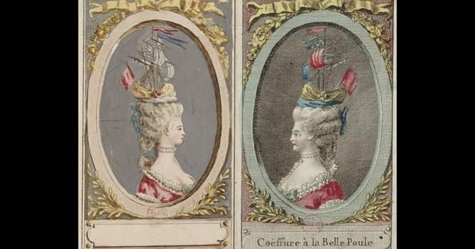 Historia Pregunta Trivia: ¿En qué siglo estaba de moda el peinado a la Belle Poule?