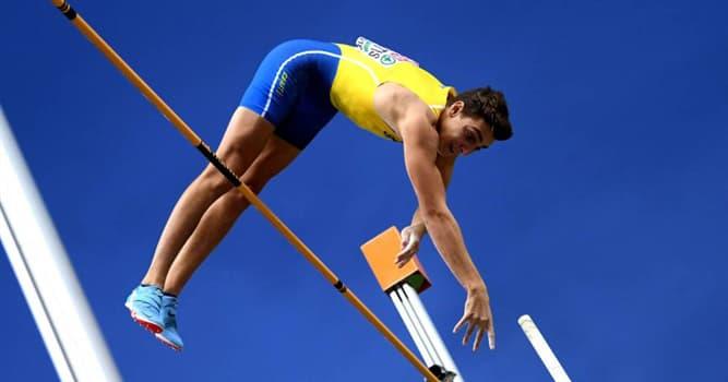 Deporte Pregunta Trivia: ¿Hasta diciembre de 2020, quién ostenta el récord mundial de salto con pértiga masculino?