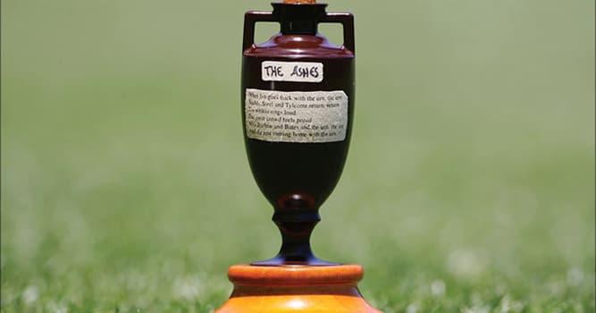 Deporte Pregunta Trivia: ¿En qué deporte hay un trofeo no oficial que consiste en una urna de cenizas?