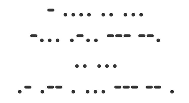 Sociedad Pregunta Trivia: ¿Cuál es un sistema de comunicación que representa letras y números mediante puntos y rayas?