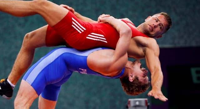 Deporte Pregunta Trivia: ¿Cómo se llama este estilo de lucha?