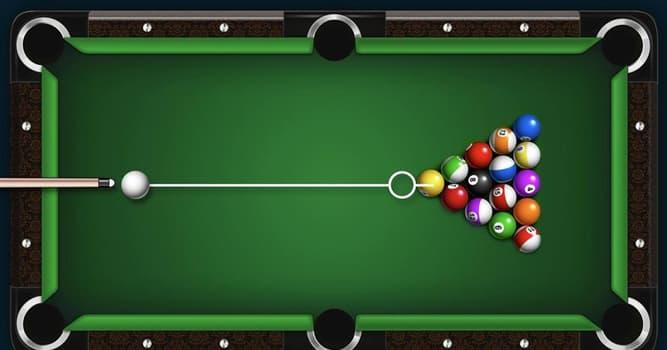 Deporte Pregunta Trivia: ¿Cómo se llaman los agujeros de la mesa de billar?