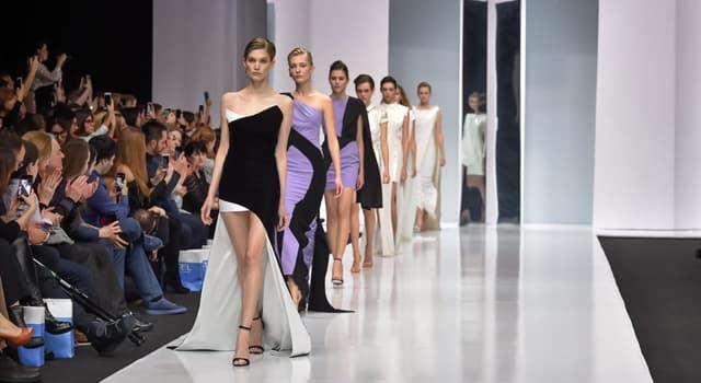 Cultura Pregunta Trivia: ¿Cómo se llama la plataforma angosta y algo elevada que usan las modelos en desfiles de moda?