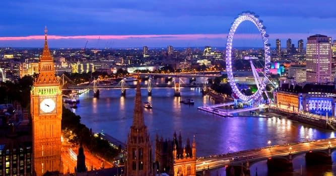 Cultura Pregunta Trivia: ¿Qué atracción turística es conocida como The London Eye (El Ojo de Londres)?