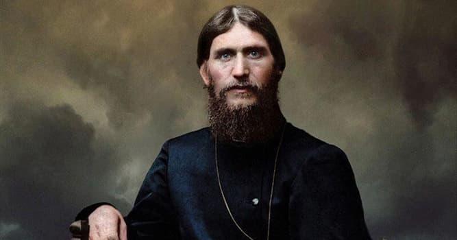 Historia Pregunta Trivia: ¿Qué místico ruso y autoproclamado santo se hizo amigo de la familia del zar Nicolás II?