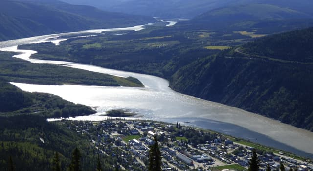 Geografía Pregunta Trivia: ¿Cuál de estos ríos se encuentra en Canadá?
