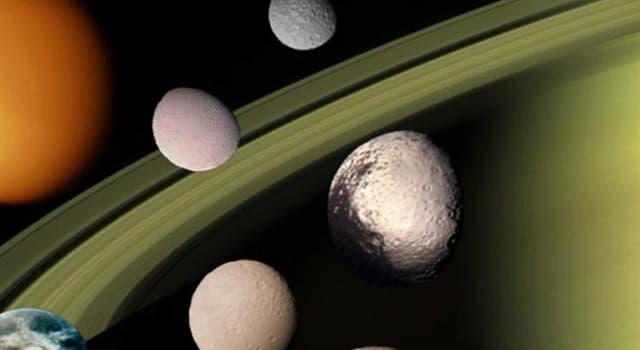 Сiencia Pregunta Trivia: ¿Cuál de los siguientes planetas tiene al menos 82 lunas?