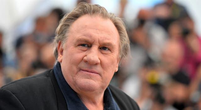 """Películas Pregunta Trivia: ¿Qué impuesto lanzado en Francia """"forzó"""" a Gérard Depardieu a adquirir la ciudadanía rusa?"""