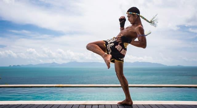 Deporte Pregunta Trivia: ¿Cuál es el deporte nacional de Tailandia?