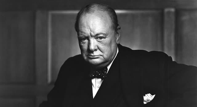 Historia Pregunta Trivia: ¿Por qué Sir Winston Churchill aparece como gruñón en esta fotografía?