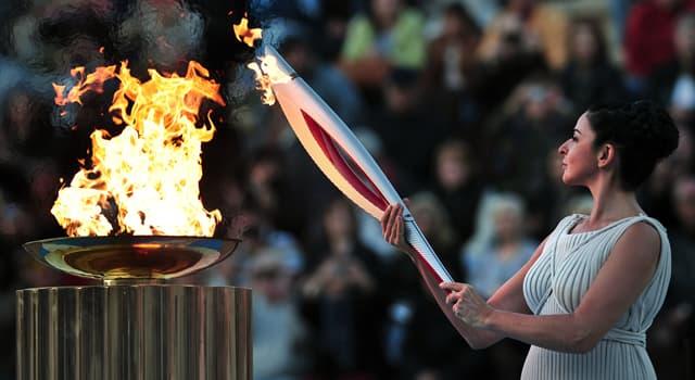 Deporte Pregunta Trivia: ¿Cuál de estos colores no figura en la bandera olímpica?