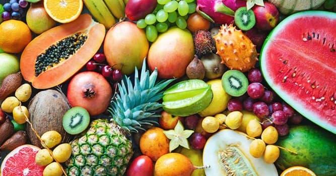 Naturaleza Pregunta Trivia: ¿La semilla de cuál de los siguientes grupos de frutas contienen amigdalina, que se transforma en cianuro?
