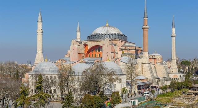 Cultura Pregunta Trivia: ¿En qué país se encuentra la mezquita de Santa Sofía?