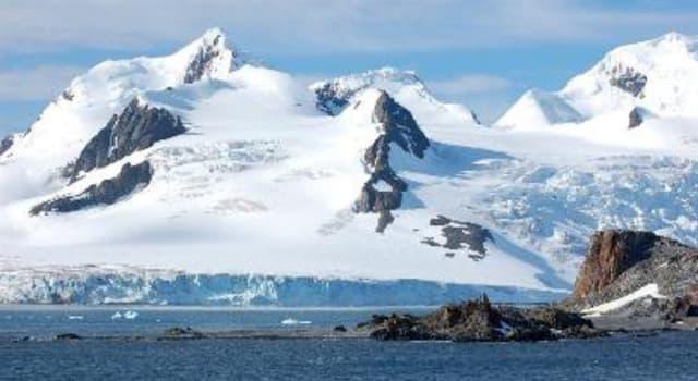 Geografía Pregunta Trivia: ¿En qué continente se encuentra la Cordillera Gámburtsev?