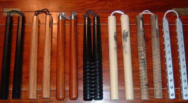 Cultura Pregunta Trivia: ¿Para qué servía originalmente en Japón el nunchaku que se utiliza en el kung-fu?