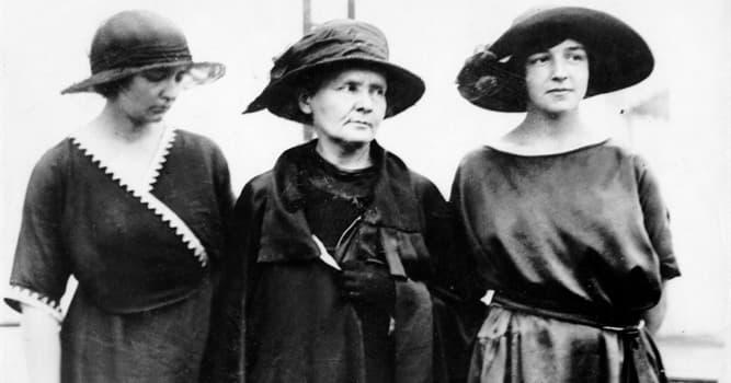Сiencia Pregunta Trivia: ¿Por qué aportación Irène Joliot-Curie recibió el Nobel de Química en 1935?