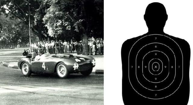 Deporte Pregunta Trivia: ¿Qué campeón mundial de tiro rápido con pistola en 1947 fue además un destacado automovilista argentino?