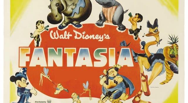 """Películas Pregunta Trivia: ¿Qué célebre suite de Tchaikowsky está incluída en la película """"Fantasía"""" de Walt Disney?"""