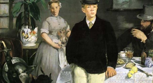Cultura Pregunta Trivia: ¿Qué cuadro de Manet fue censurado en una exposición oficial y fue un icono del inicio del impresionismo?