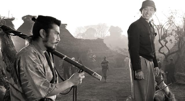 """Películas Pregunta Trivia: ¿Qué director japonés, descendiente de una familia de samuráis, fue apodado """"el emperador del cine japonés""""?"""