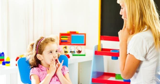 Сiencia Pregunta Trivia: ¿Qué disciplina trabaja con problemas de comunicación y trastornos del habla?