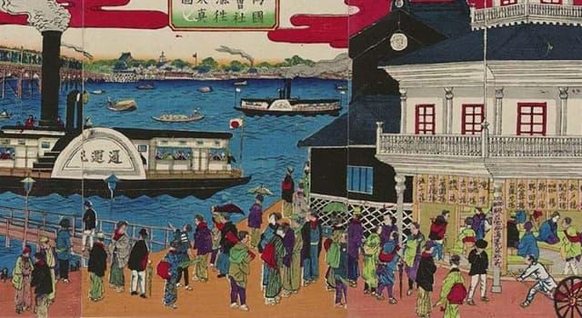 Historia Pregunta Trivia: ¿Qué hecho posibilitó, en Japón, la transición de un régimen feudal a la Revolución Industrial?