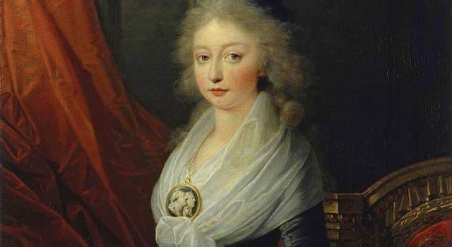 Historia Pregunta Trivia: ¿Qué hija de María Antonieta de Austria fue conocida como Madame Royale?