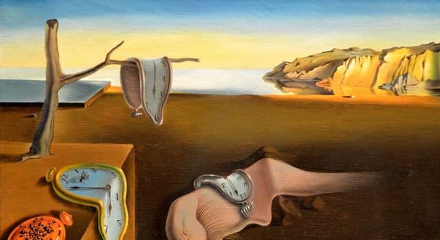 """Cultura Pregunta Trivia: ¿Qué inspiró a Dalí la imagen del reloj blando que aparece en """"La persistencia de la memoria""""?"""