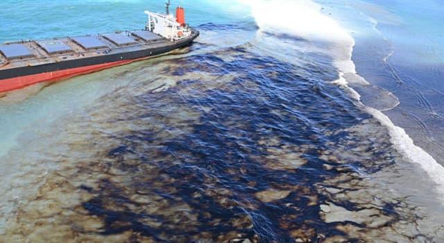 Geografía Pregunta Trivia: ¿Qué isla se vio afectada en agosto de 2020 por un vertido de petróleo de un buque japonés?