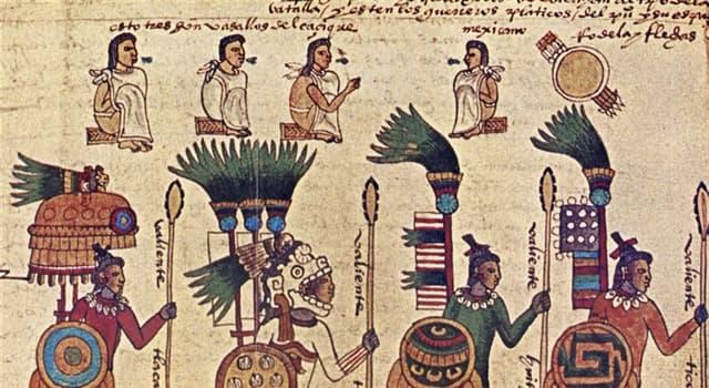 Sociedad Pregunta Trivia: ¿Qué material usaban los aztecas en sus armas, tan temidas por los conquistadores?