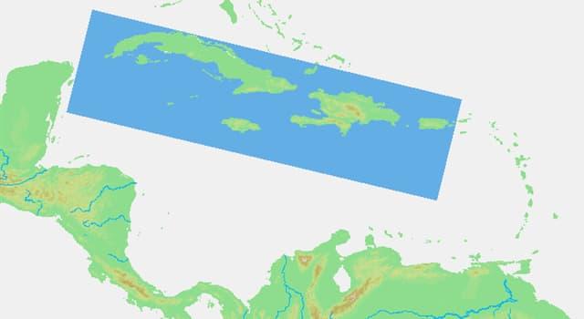 Geografía Pregunta Trivia: ¿Qué países forman las Antillas Mayores?