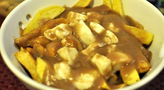 Cultura Pregunta Trivia: ¿Qué plato de la región canadiense de Quebec está elaborado con patatas fritas, queso y salsa de carne?