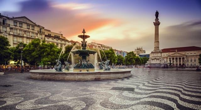 Geografía Pregunta Trivia: ¿Qué plaza es el centro neurálgico de la ciudad de Lisboa?