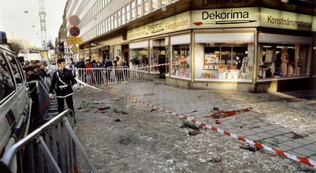 Historia Pregunta Trivia: ¿Qué político sueco fue asesinado en 1986?