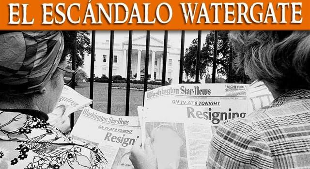 Historia Pregunta Trivia: ¿Qué presidente norteamericano fue obligado a renunciar a raíz del escándalo Watergade?