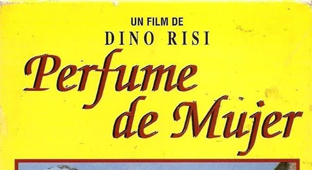 """Películas Pregunta Trivia: ¿Qué problema físico tenía Vittorio Gassman en la película """"Perfume de mujer""""?"""
