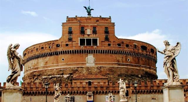 Historia Pregunta Trivia: ¿Qué río está cerca del Castillo Sant'Angelo o Castel Sant'Angelo?