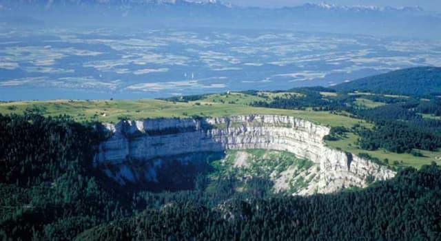 Geografía Pregunta Trivia: ¿Qué ríos divide el Macizo del Jura?