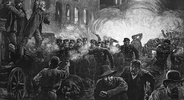 Cultura Pregunta Trivia: ¿Qué supuso la revuelta de Haymarket Square en Chicago, Estados Unidos, el 4 de mayo de 1886?