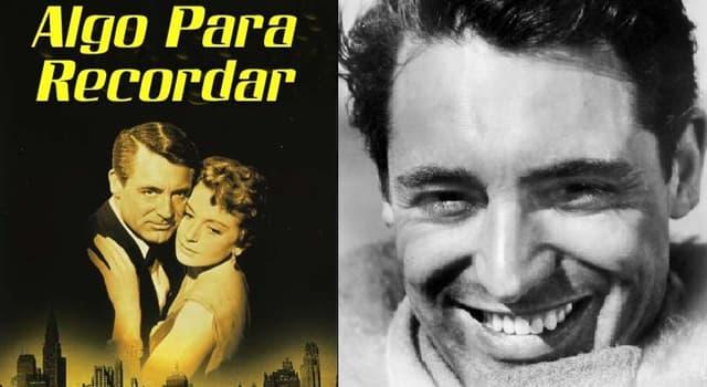 """Películas Pregunta Trivia: ¿Quién era la pareja de Cary Grant en la película """"Algo para recordar""""?"""